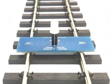 RKtt1 O Gauge Track Testing Module for Model Railway - Constructed